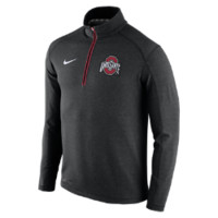 Nike College Game Day Half-Zip Knit (Ohio State) Men's Top