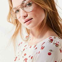 Kelly Metal Aviator Readers - Urban Outfitters