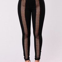 Look At Em Leggings - Black