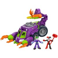 Fisher-Price Imaginext DC Super Friends Joker & Harley Quinn Battle Vehicle - Walmart.com