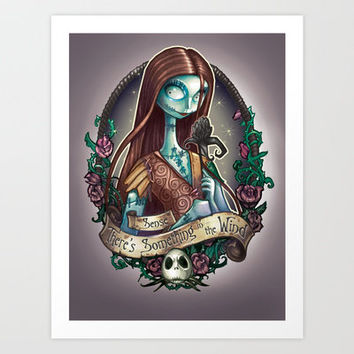 """Something In the Wind"" Art Print by Tim Shumate"