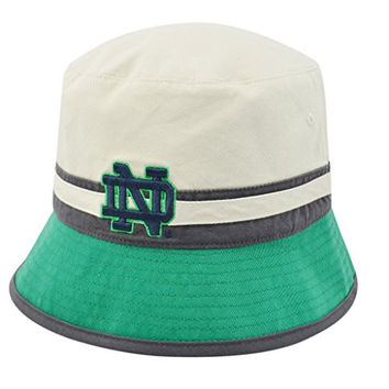 Notre Dame Fighting Irish Official NCAA One Size Sandie Three Tone Reversible Bucket Hat by Top of the World 148445
