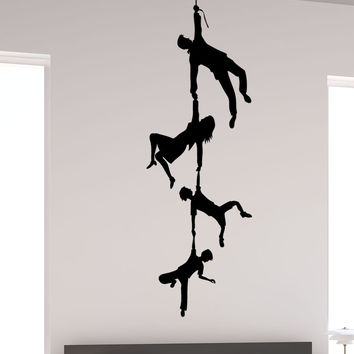 Vinyl Wall Decal Sticker Hanging Family #5492