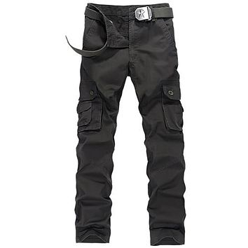 Army military cargo pants mens cargo pants  trousers casual clothing male overalls mens pants