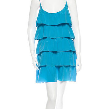 Jay Godfrey Ruffled Dress w/Tags