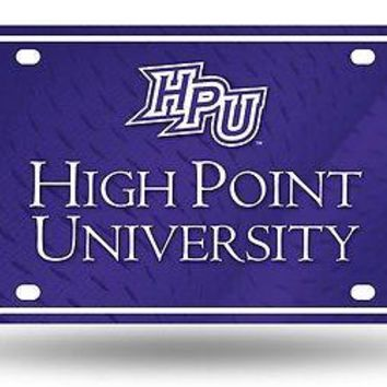 High Point Panthers Logo NCAA 12x6 Auto Metal License Plate Tag CAR TRUCK
