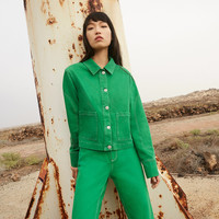 BDG Green Utility Jacket | Urban Outfitters