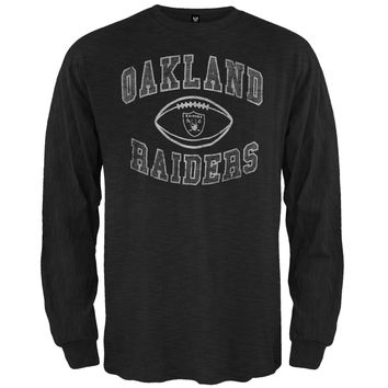 Oakland Raiders - Logo Scrum Premium Long Sleeve