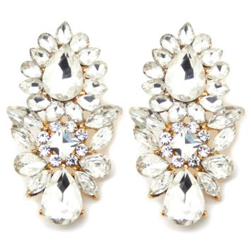 Luxe Crystal Earrings