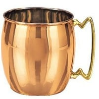 Old Dutch International, Purveyors of the ORIGINAL MOSCOW MULE MUG, 16-Ounce Solid Copper Smooth Finish Moscow Mule Mug