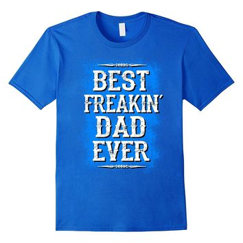 Mens Best dad ever t shirt fathers day gift for husband from wife