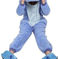 Ouying Women's Onesuit Kigurumi Pajamas Unisex Adult Cosplay Clothing