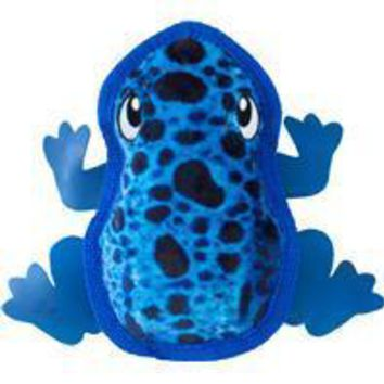 Petstages - Tough Skinz Frog Dog Toy W/invincible Squeaker