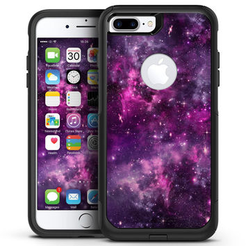 Vibrant Purple Deep Space - iPhone 7 or 7 Plus Commuter Case Skin Kit