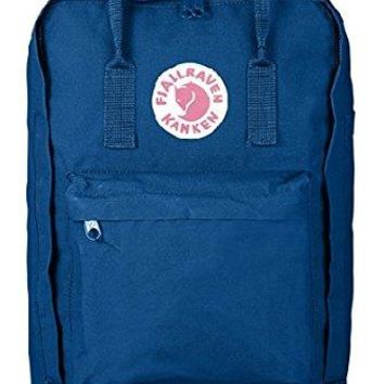"Fjallraven - Kanken Laptop 17"" Bag, Heritage and Responsibility Since 1960, Lake Blue"