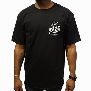 FAZE Logo Tee in black and white