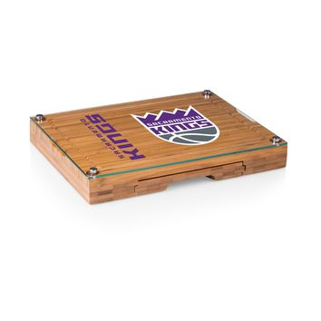 Sacramento Kings - 'Concerto' Glass Top Cheese Board & Tools Set by Picnic Time