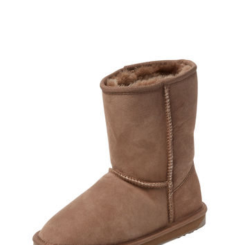 EMU Women's Stinger 14 Lo Sheepskin Boot - Cream/Tan -