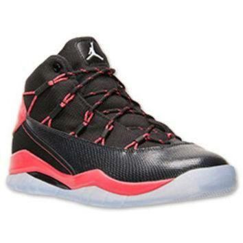 LMFIW1 Girls' Grade School Jordan Prime Flight Basketball Shoes