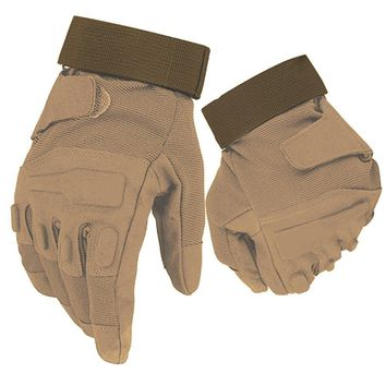 New Black Hawk Tactical Full Finger Gloves Military Army Paintball Airsoft Shooting Anti-Skid Gear Rubber Knuckle