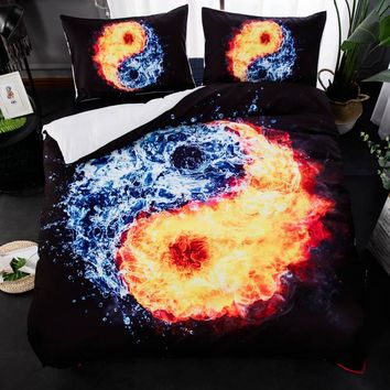 3D Print Bed Linen Bedding Sets Comforter Bed Cover Quilt Cover Galaxy Duvet Cover Set Queen King Size Bedding Double Bed Sheet