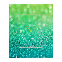 Lisa Argyropoulos Sea Breeze Rectangular Clock