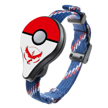 Pokemon GO Plus Shield by MyPokeballGO® | Team Valor | Custom Cover Skin for Nintendo Accessory - PREORDER