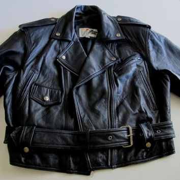 Vintage Leather Jacket (Wilsons Leather)