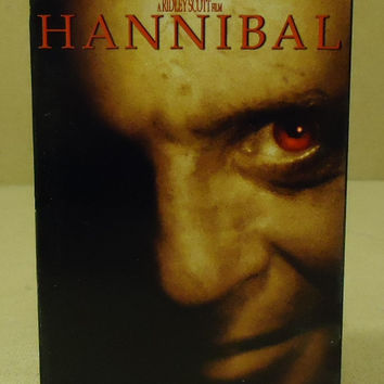 metro-Goldwin-Mayer Pictures Hannibal VHS Movie  * Plastic Paper -- Used