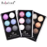 Rosalind Eye Shadow Palette 6 Colors Brand Love Alpha