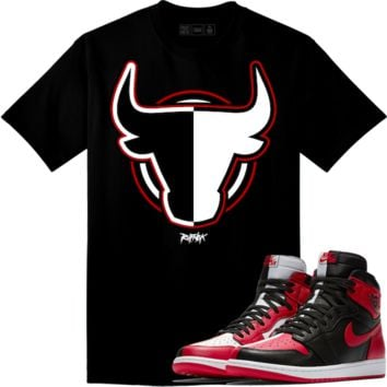 Jordan Retro 1 Homage Sneaker Tees Shirt - HOMAGE BULLY