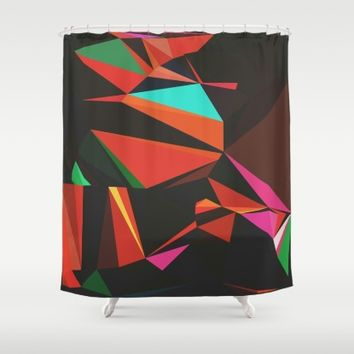 All the Lights Shower Curtain by Ducky B