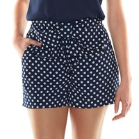 Disney's Minnie Mouse a Collection by LC Lauren Conrad Polka-Dot Soft Shorts