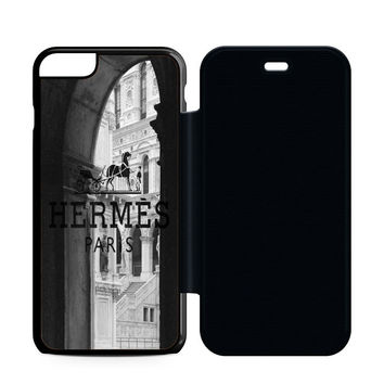 Hermes Paris Castle Flip Case iPhone 6 | iPhone 6S | iPhone 6S Plus  Case