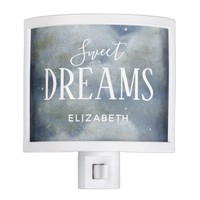 Sweet Dreams Personalized Child Night Light