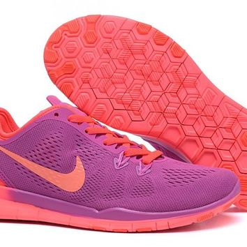 Women's Training Shoes: Nike Free TR FIT 5 Brthe Purple/Red