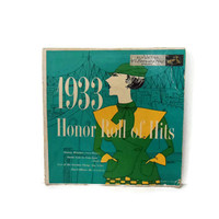 1933 Honor Roll of Hits / RCA Victor Record / Gerry Gersten Art / 1954
