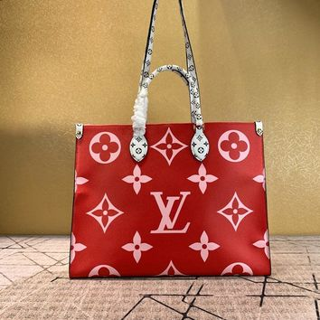 Louis Vuitton LV Women Leather Shoulder Bag Crossbody Satchel Handbag