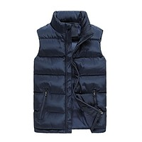 Mens Fashion Sleeveless Vest