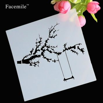 DIY Stencils Masking Spray Painted Template Drawing Stencils Laser Cut Embossing Handwork Scrapbooking Tool Card free shipping