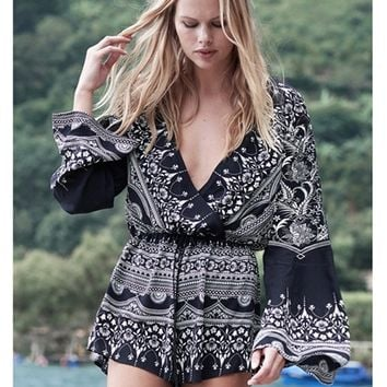 The Jetset Diaries Las Estrellas Romper | Boutique To You
