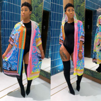 VERSACE Women Cape coat