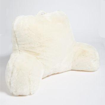 Nordstrom at Home Cuddle Up Faux Fur Backrest Pillow | Nordstrom