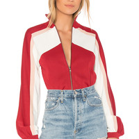 EGREY Portobelo Tricot Jacket in Red Multi | REVOLVE