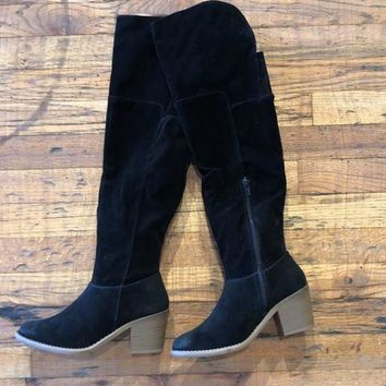 Next Level Over-the-Knee Boots in Black