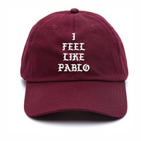 I Feel Like Pablo Baseball Hat Kanye West The Life Of Pablo Merch Yeezy Season 3 Yeezus