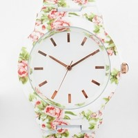 New Look All Over Floral Watch