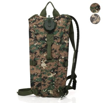 3L 3 Liter (100 ounce) Hydration Pack Bladder Water Bag Pouch Hiking Climbing Survival Outdoor Backpack  DEC08