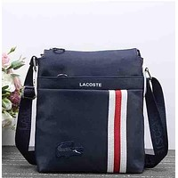 Perfect Lacoste Women Fashion Leather Satchel Shoulder Bag Crossbody