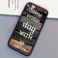 Funny Harry Potter Books Printed Mobile Phone Cases OEM For iPhone 6 6S Plus 7 7 Plus 5 5S 5C SE 4S Soft Rubber Back Cover Shell